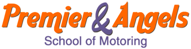 Premier and Angels School of Motoring Logo